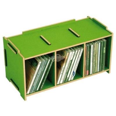 """Werkhaus """"Medienbox - CD stapelbar"""" grasgrün (son2053-15)"""