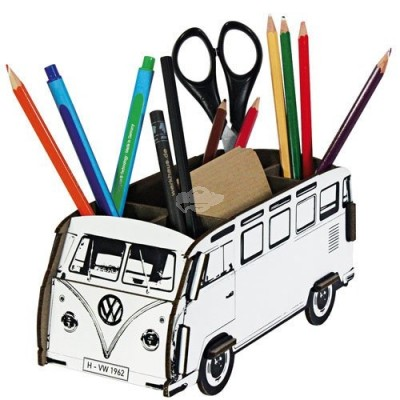 "Werkhaus Stiftbox ""VW-Bus"" - you are the Artist - DIY"