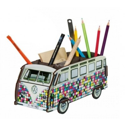 "Stiftebox ""VW Bus Pixel"""