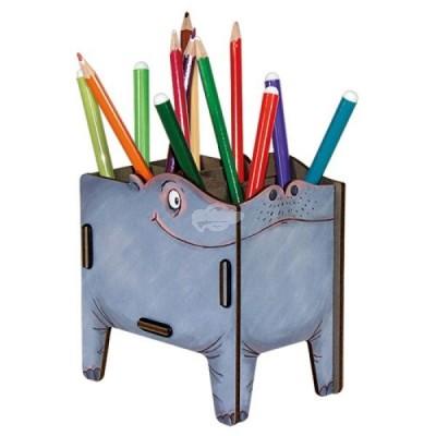 """Stiftebox Vierbeiner """"Hippo"""""""