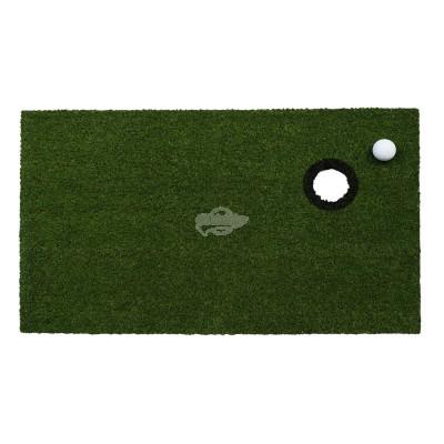 Fußmatte ''Golfl'' - mit Schild und aufgesetztem Ball