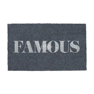 """Fußmatte """"Famous"""""""
