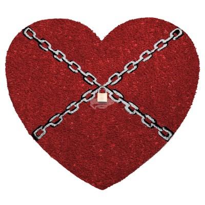 """Fußmatte """"Chainheart"""""""