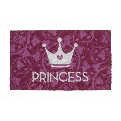 """Fußmatte """"Prinzess mit Glittereffekt"""""""