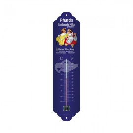 "Thermometer ""Milch - Pfunds"" Nostalgic Art"